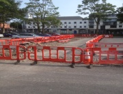 Stephen Street Car Park up grade works