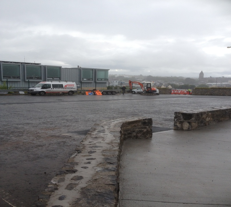 Connaughton Road Car Park up grade works